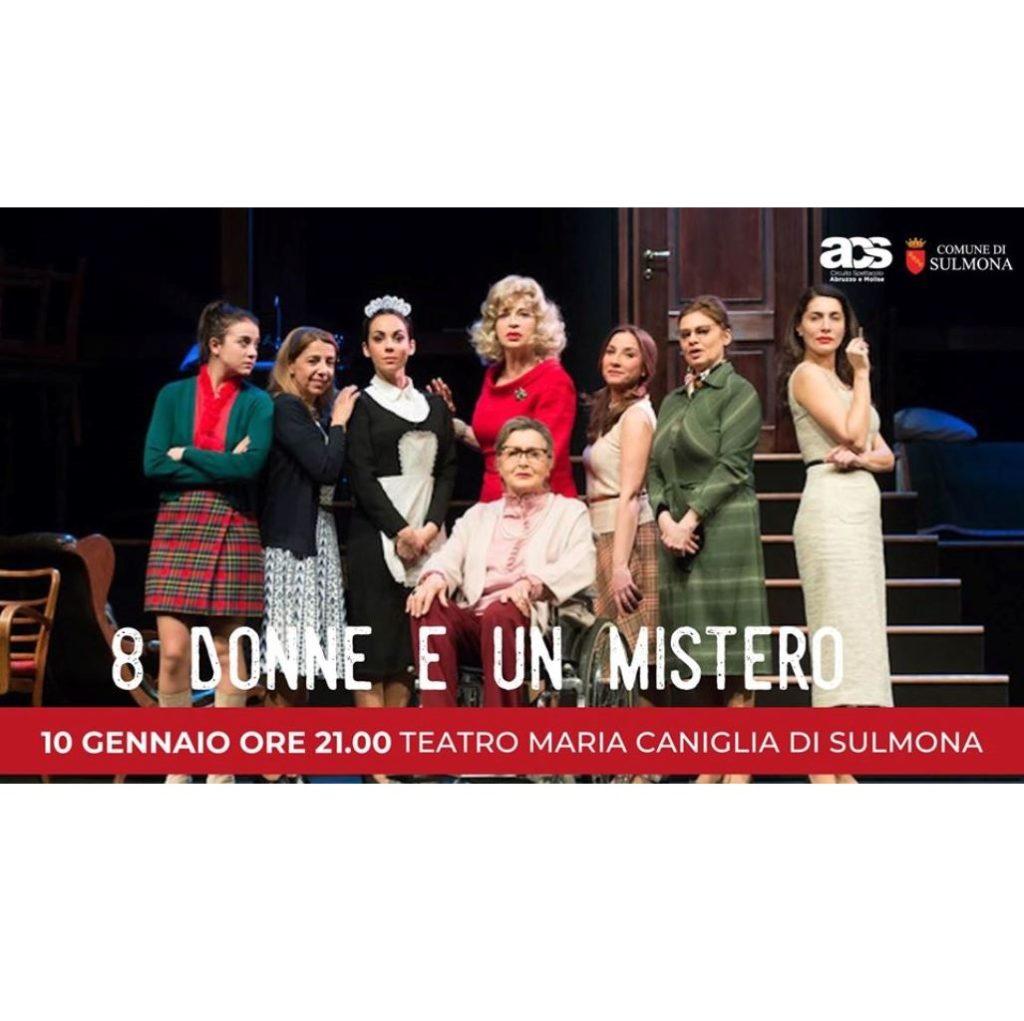 8 donne e un mistero a Sulmona foto