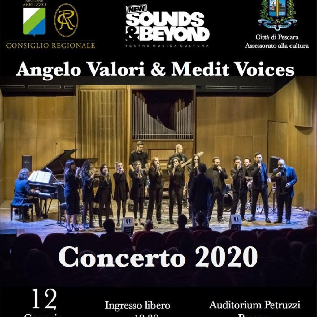 Angelo Valori & Medit Voices Ensemble all'Auditorium Petruzzi a Pescara locandina