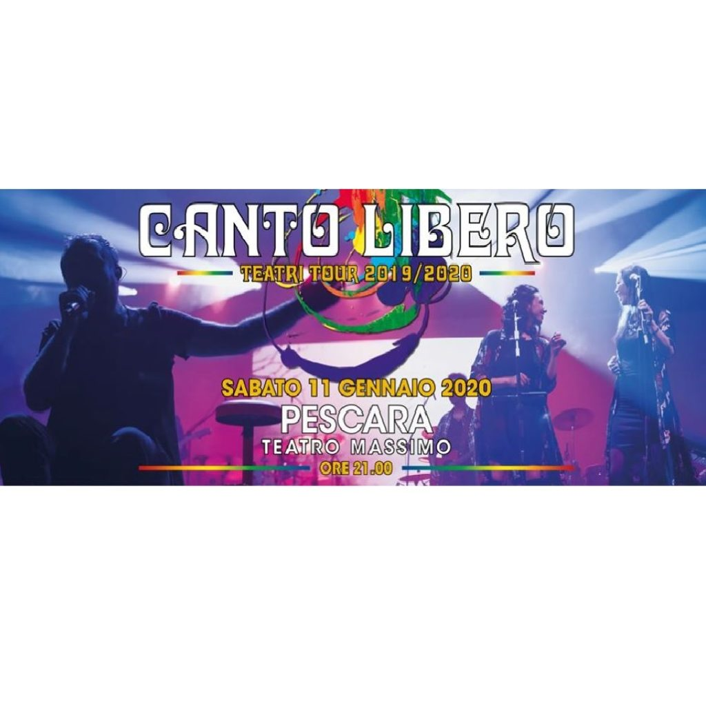 Canto Libero al Cinema Teatro Massimo a Pescara foto