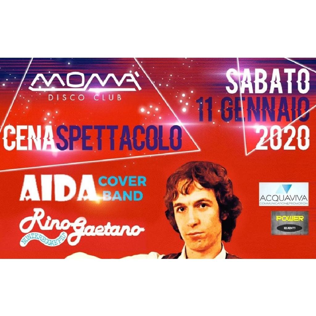 Cena Spettacolo con Aida Cover Band alla Discoteca Momà a Collecorvino foto