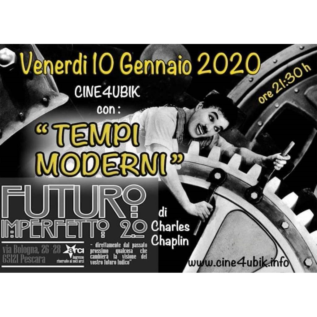 Chaplin dal vivo a Futuro Imperfetto 2.0 a Pescara locandina