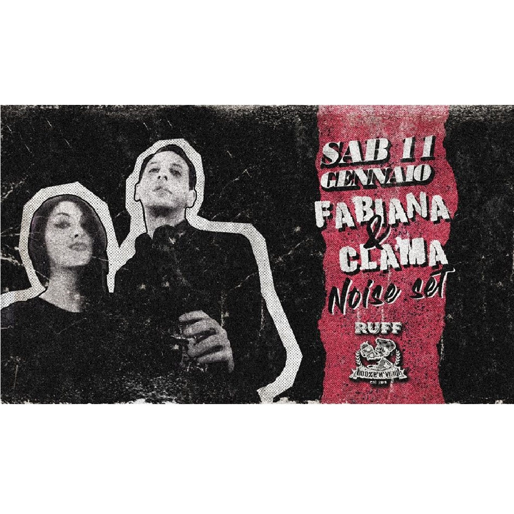 Fabiana & Clama - Noise Set Ruff al Booze'n'Vinyl a Pescara foto