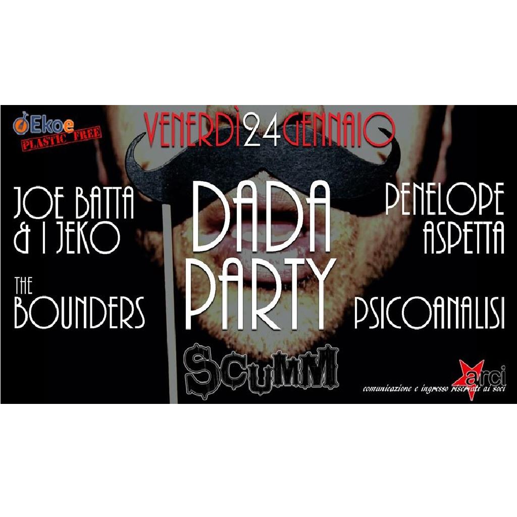 Joe Batta & i Jeko Dada Party allo Scumm a Pescara locandina