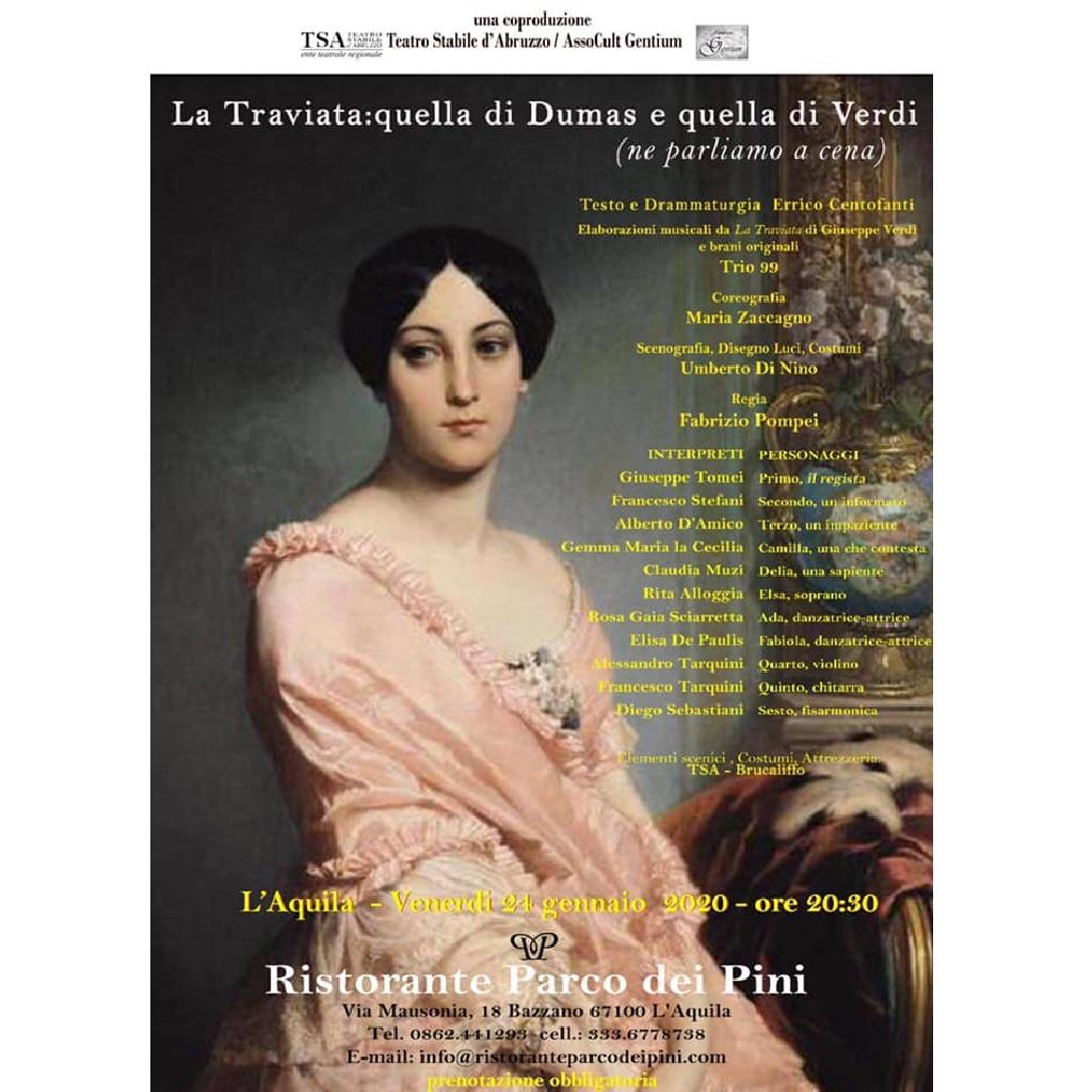 La Traviata quella di Dumas e quella di Verdi foto