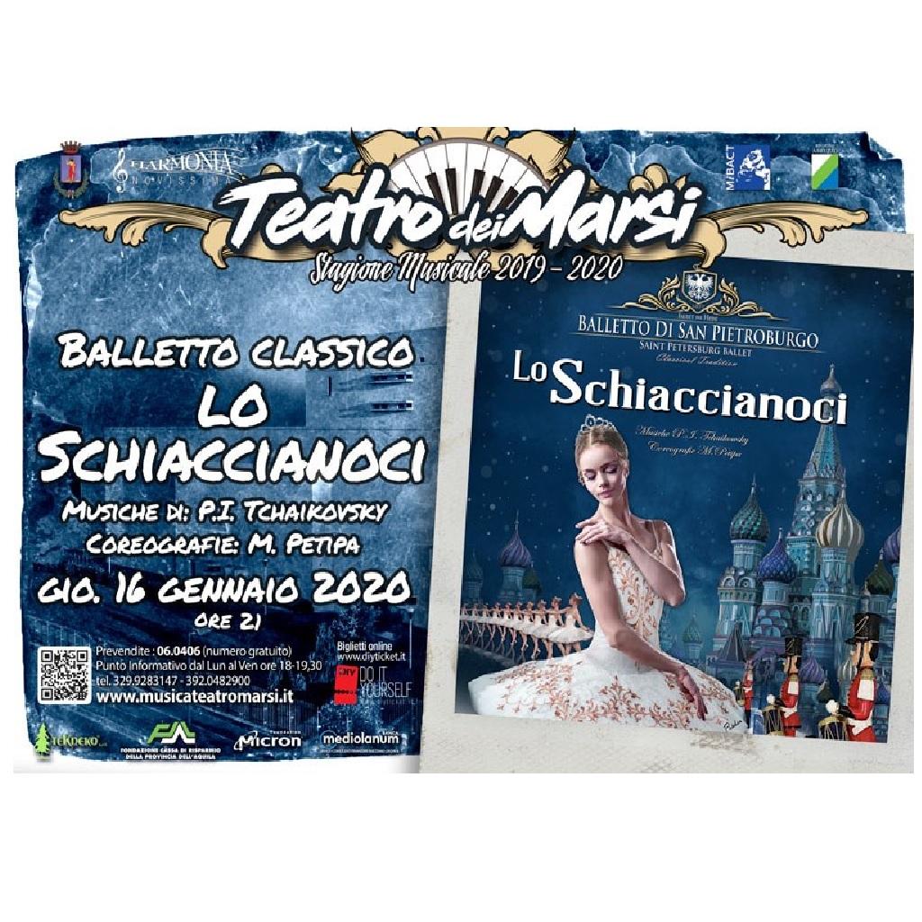 Lo Schiaccianoci al Teatro dei Marsi ad Avezzano (Aq) foto