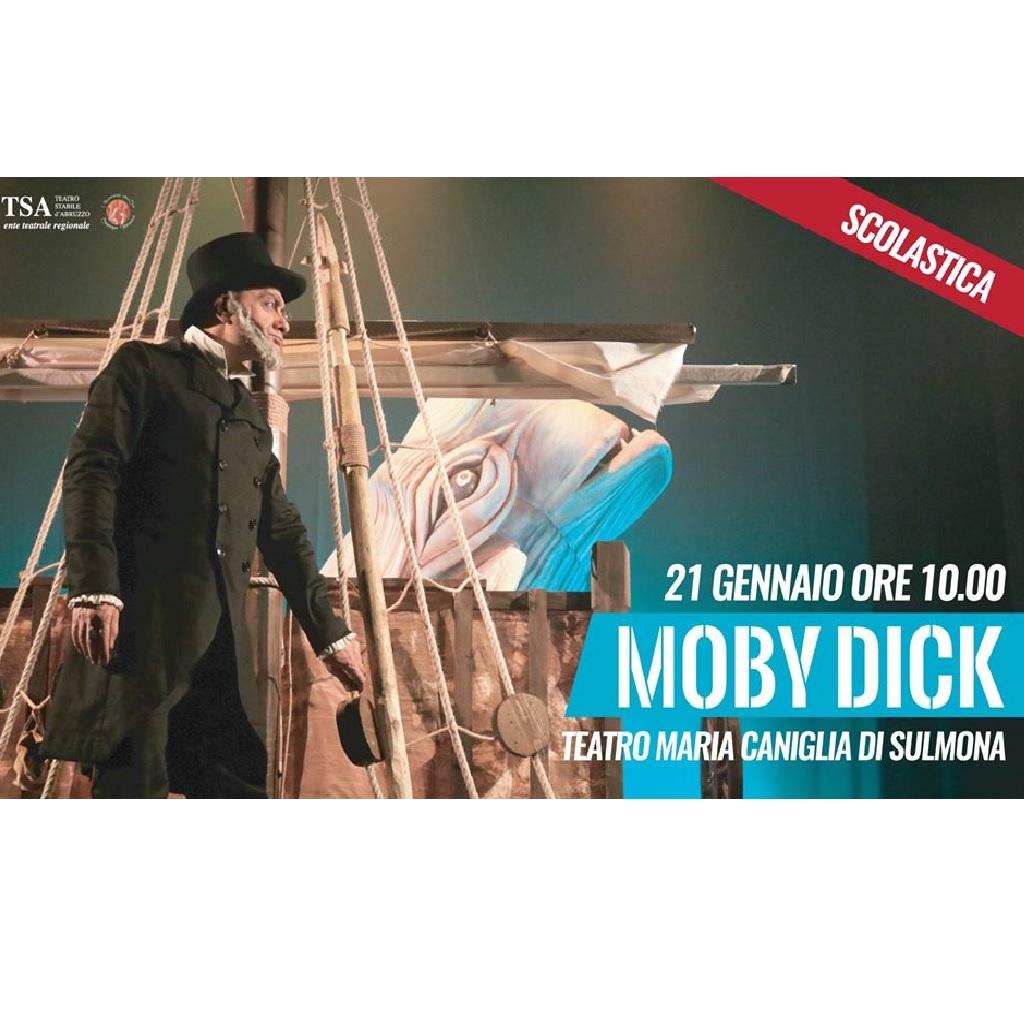 Moby Dick al Teatro Maria Caniglia a Sulmona (Aq) foto
