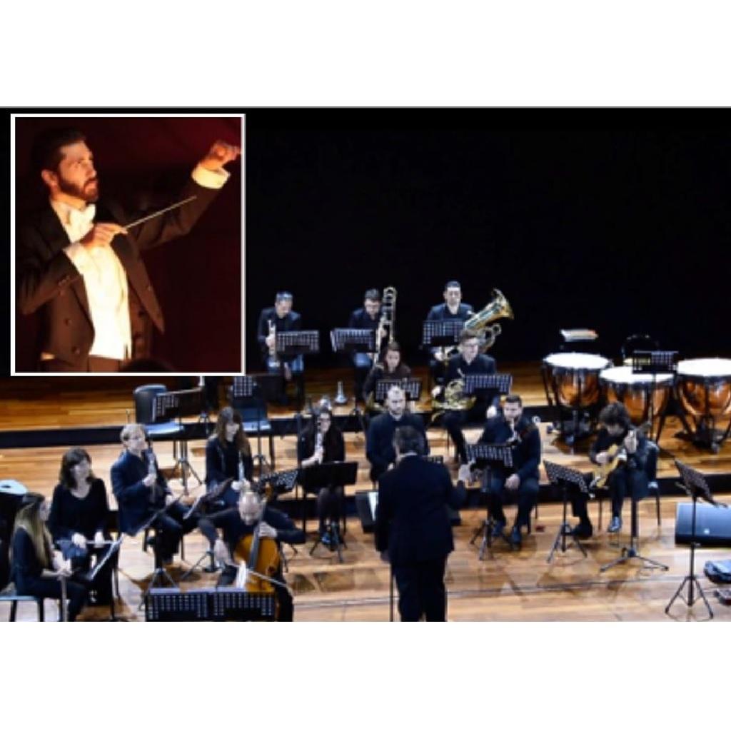 Serenate per fiati al Teatro Maria Caniglia a Sulmona (Aq) foto