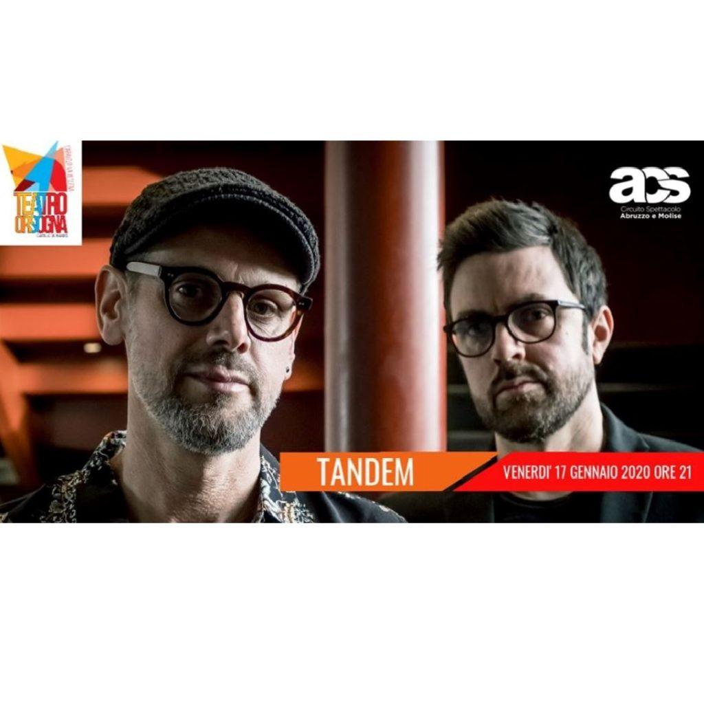 Tandem - Fabrizio Bosso e Julian Oliver Mazzariello al Teatro Comunale Camillo De Nardis a Orsogna (Ch) foto