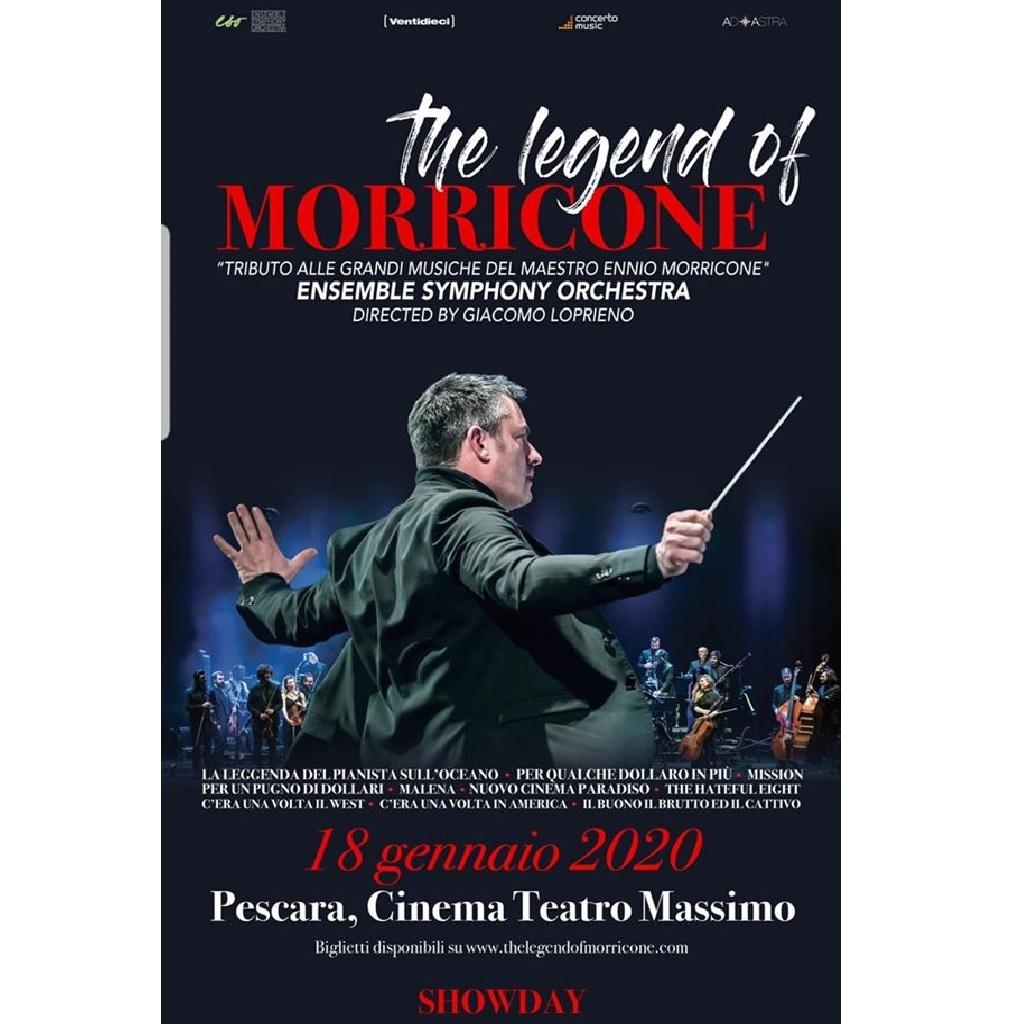 The Legend of Morricone al Teatro Massimo a Pescara foto
