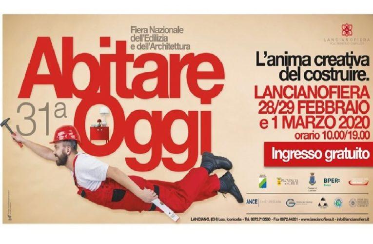 Abitare Oggi a Lanciano (Ch) dal 28 febbraio al 1 marzo 2020