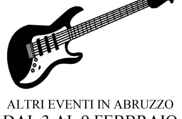 Eventi in Abruzzo febbraio 2020 dal 3 al 9