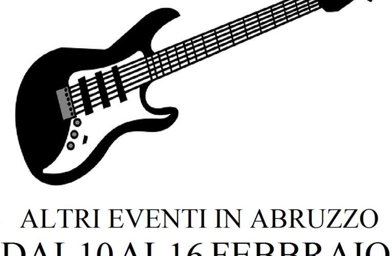 Eventi in Abruzzo febbraio 2020 dal 10 al 16