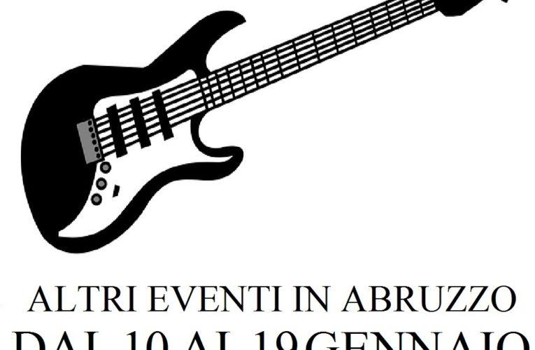Eventi in Abruzzo gennaio 2020 dal 10 al 19