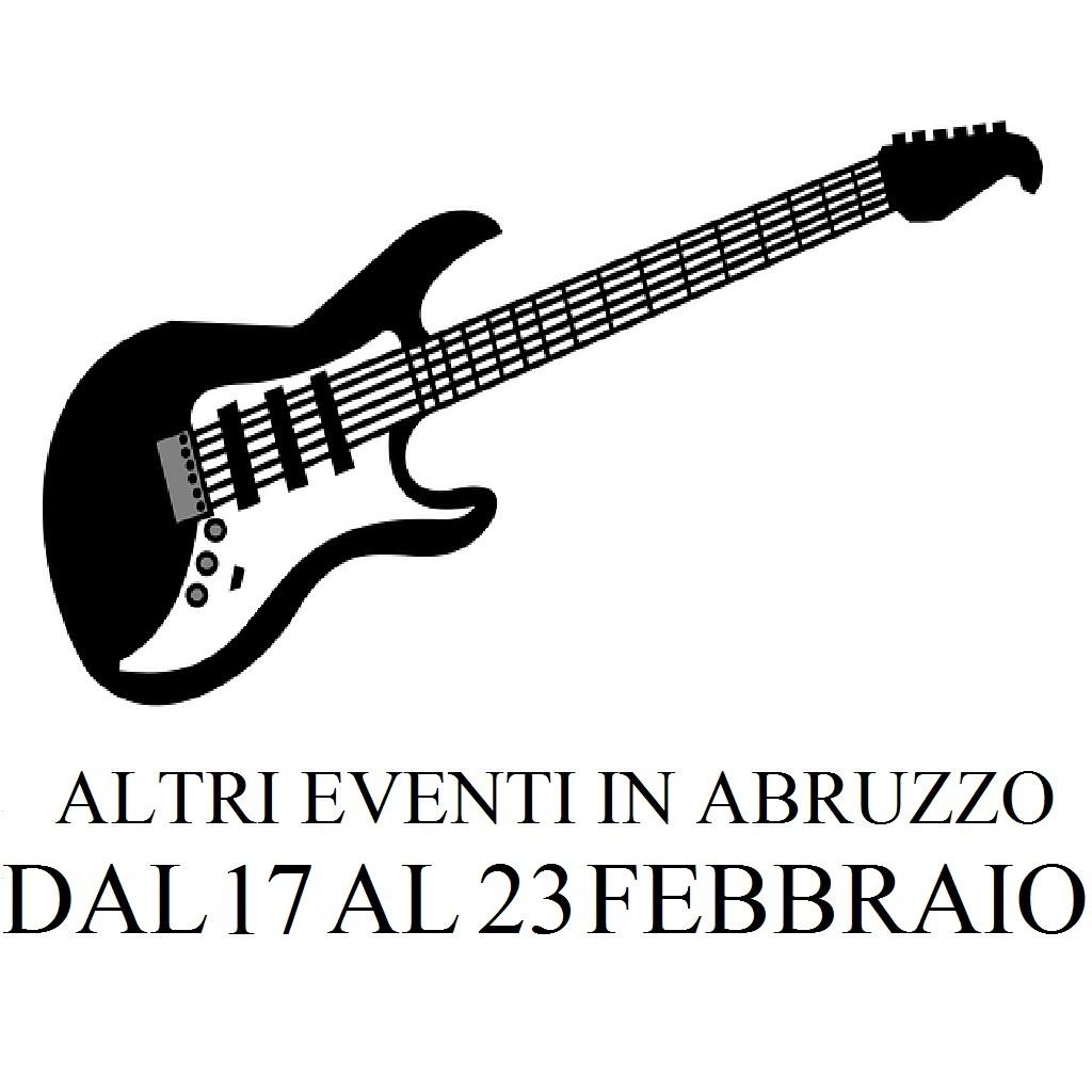 Altri eventi in Abruzzo dal 17 al 23 febbraio 2020 foto