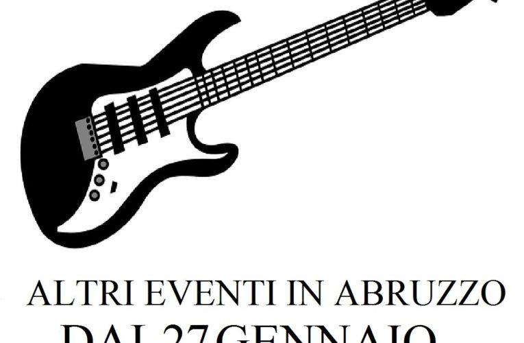 Eventi in Abruzzo dal 27 gennaio al 2 febbraio 2020