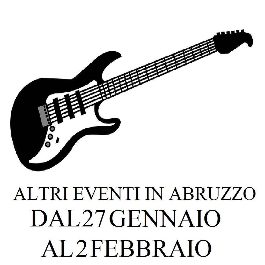 Altri eventi in Abruzzo dal 27 gennaio al 2 febbraio 2020 foto