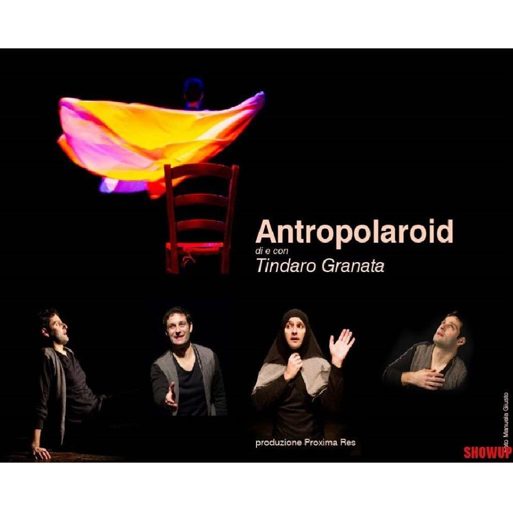 Antropolaroid di e con Tindaro Granata al Teatro Gianni Cordova a Pescara foto