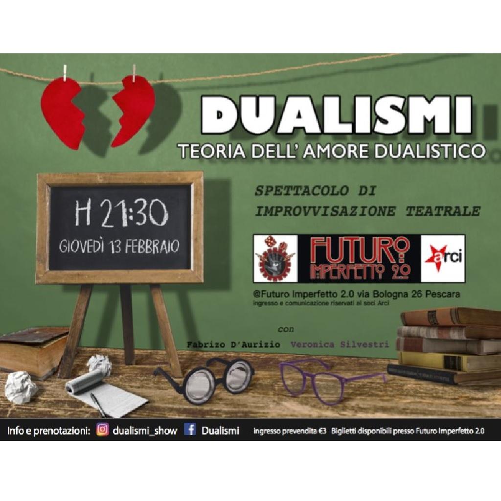 Dualismi - Spettacolo di improvvisazione teatrale a Futuro Imperfetto 2.0 a Pescara foto