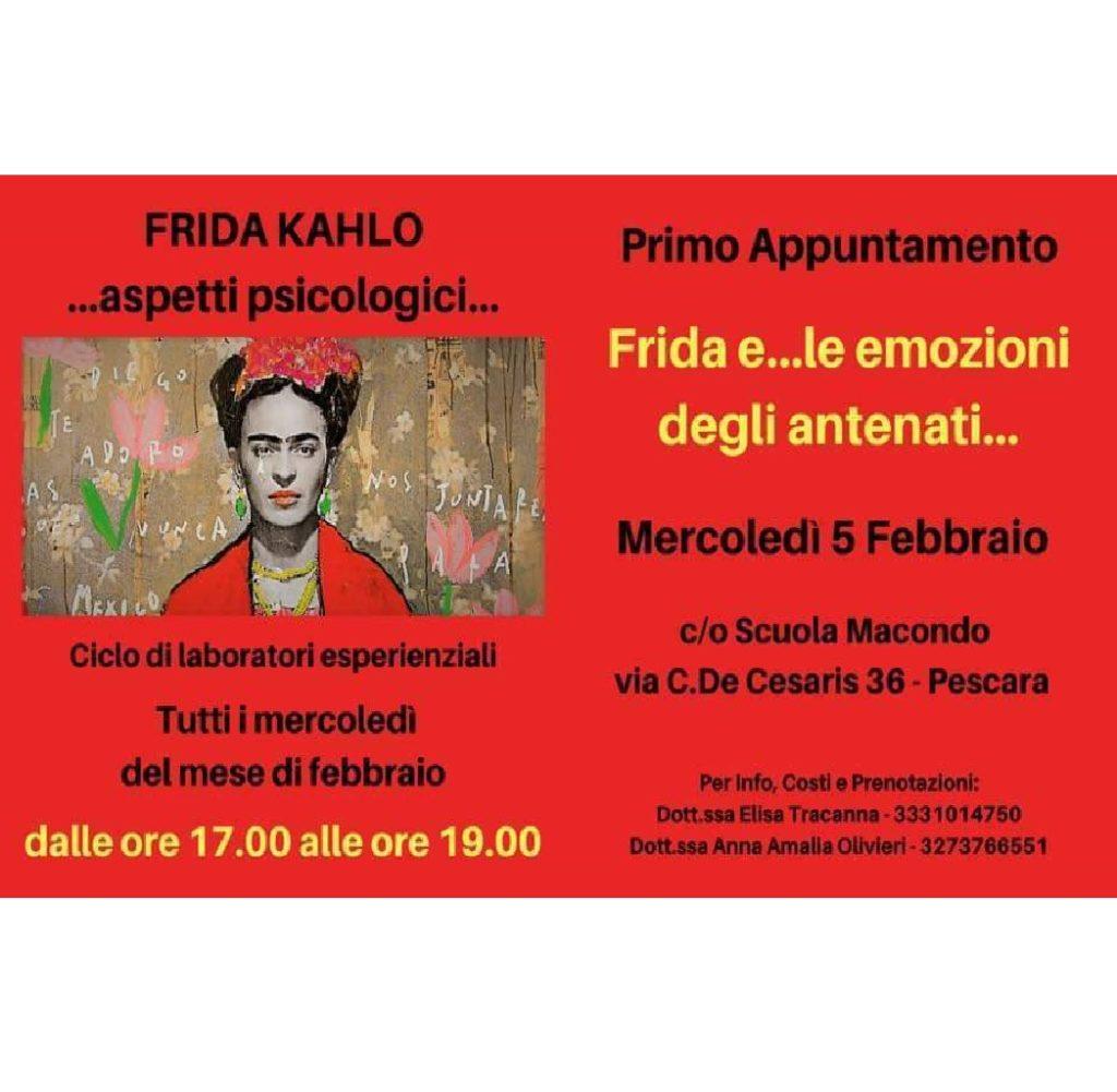 Frida Kahlo e la psicologia! alla Scuola Macondo - l'Officina delle Storie a Pescara foto
