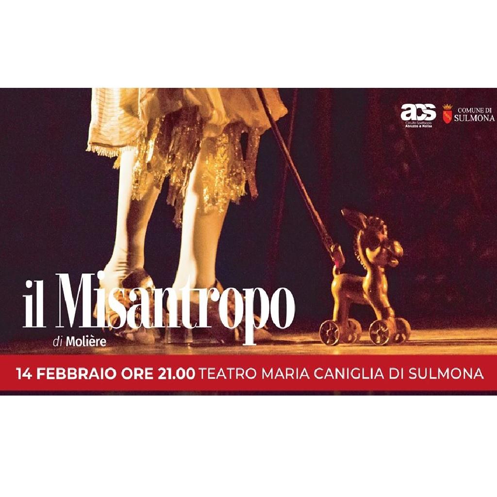 Il Misantropo al Teatro Maria Caniglia a Sulmona (Aq) foto