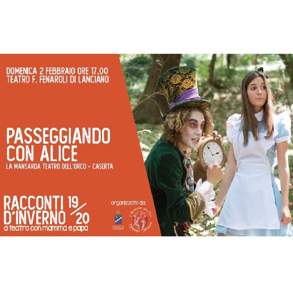Passeggiando con Alice al Teatro Comunale Fedele Fenaroli a Lanciano (Ch) foto