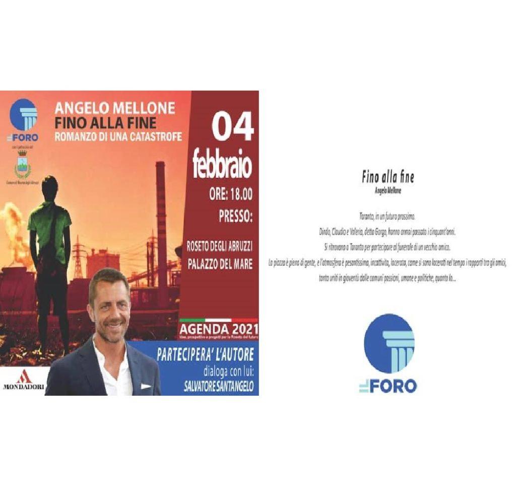 Presentazione del libro Fino alla fine a Palazzo Del Mare a Roseto degli Abruzzi (Te) foto