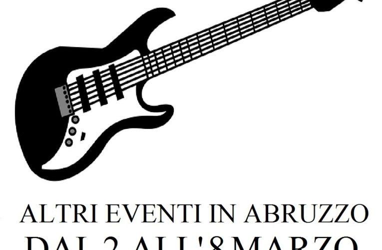 Eventi in Abruzzo marzo 2020 dal 2 all'8