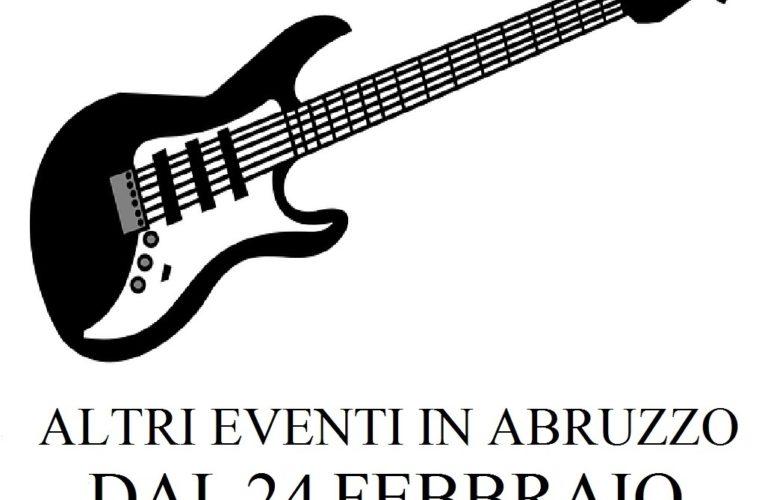 Eventi in Abruzzo dal 24 febbraio all'1 marzo 2020
