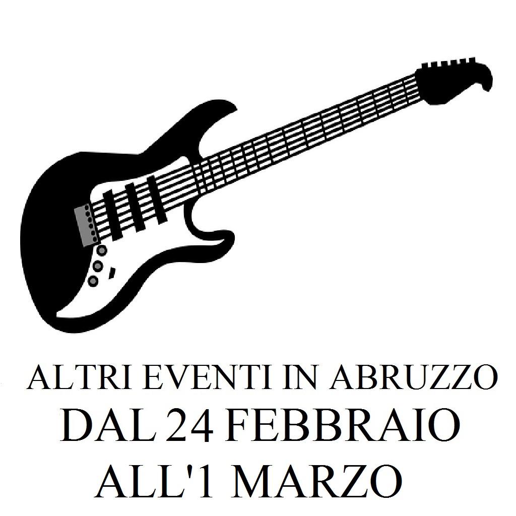 Altri eventi in Abruzzo dal 24 febbraio all'1 marzo 2020 foto