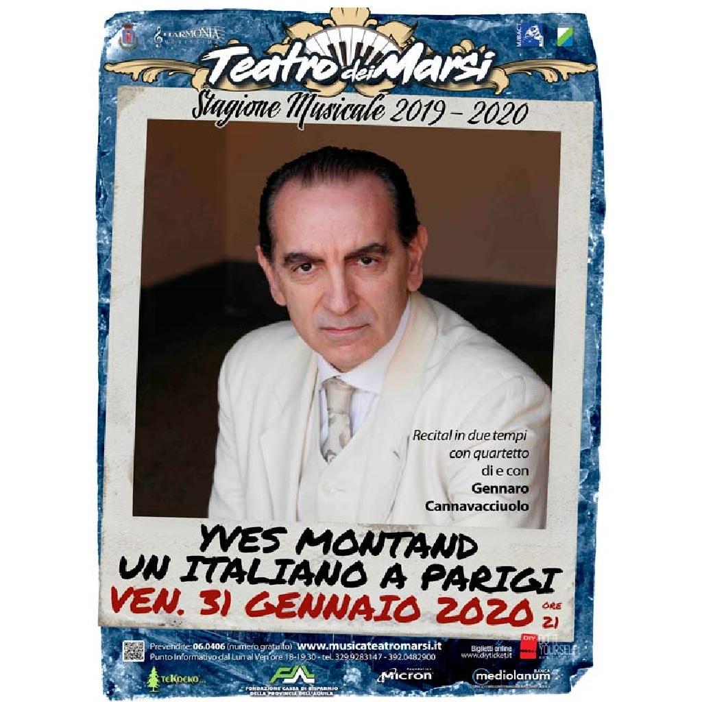 Yves Montand - Un italiano a Parigi al Teatro dei Marsi ad Avezzano (Aq) foto