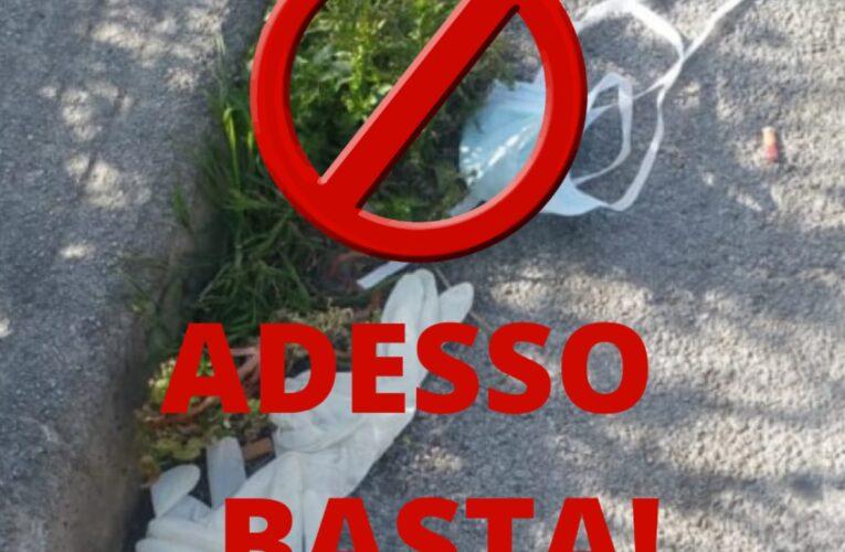 Città Sant'Angelo divieto abbandono DPI 29 maggio 2020