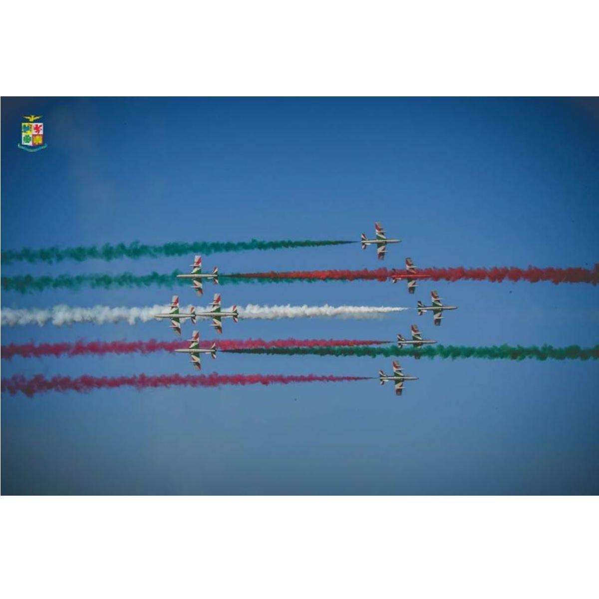 Domani 26 maggio le frecce tricolori a L'Aquila foto