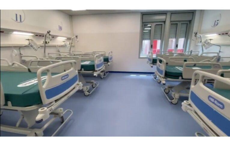 Inaugurato ieri il nuovo Covid Hospital di Pescara