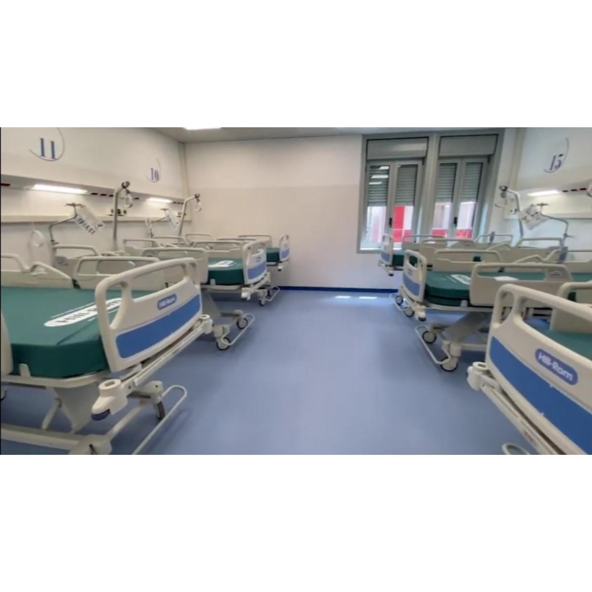 Inaugurato ieri il nuovo Covid Hospital di Pescara foto