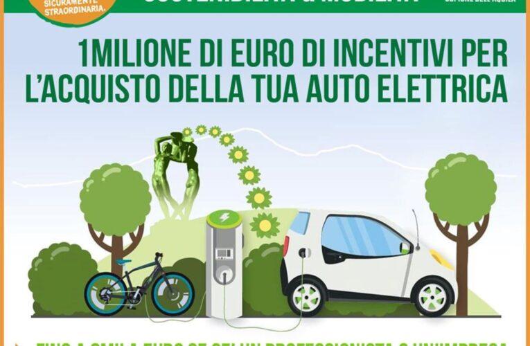 L'Aquila incentiva acquisto auto elettriche con bando