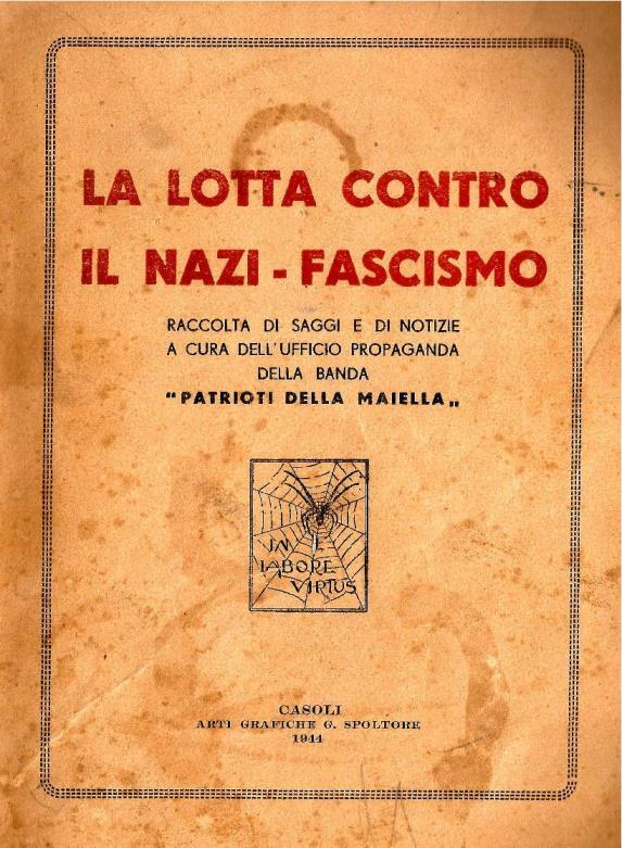 Libretto La Lotta Contro Il Nazi-Fascismo copertina