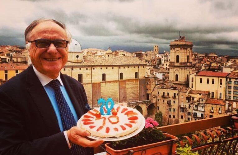 Mario Pupillo Sindaco di Lanciano compie 70 anni