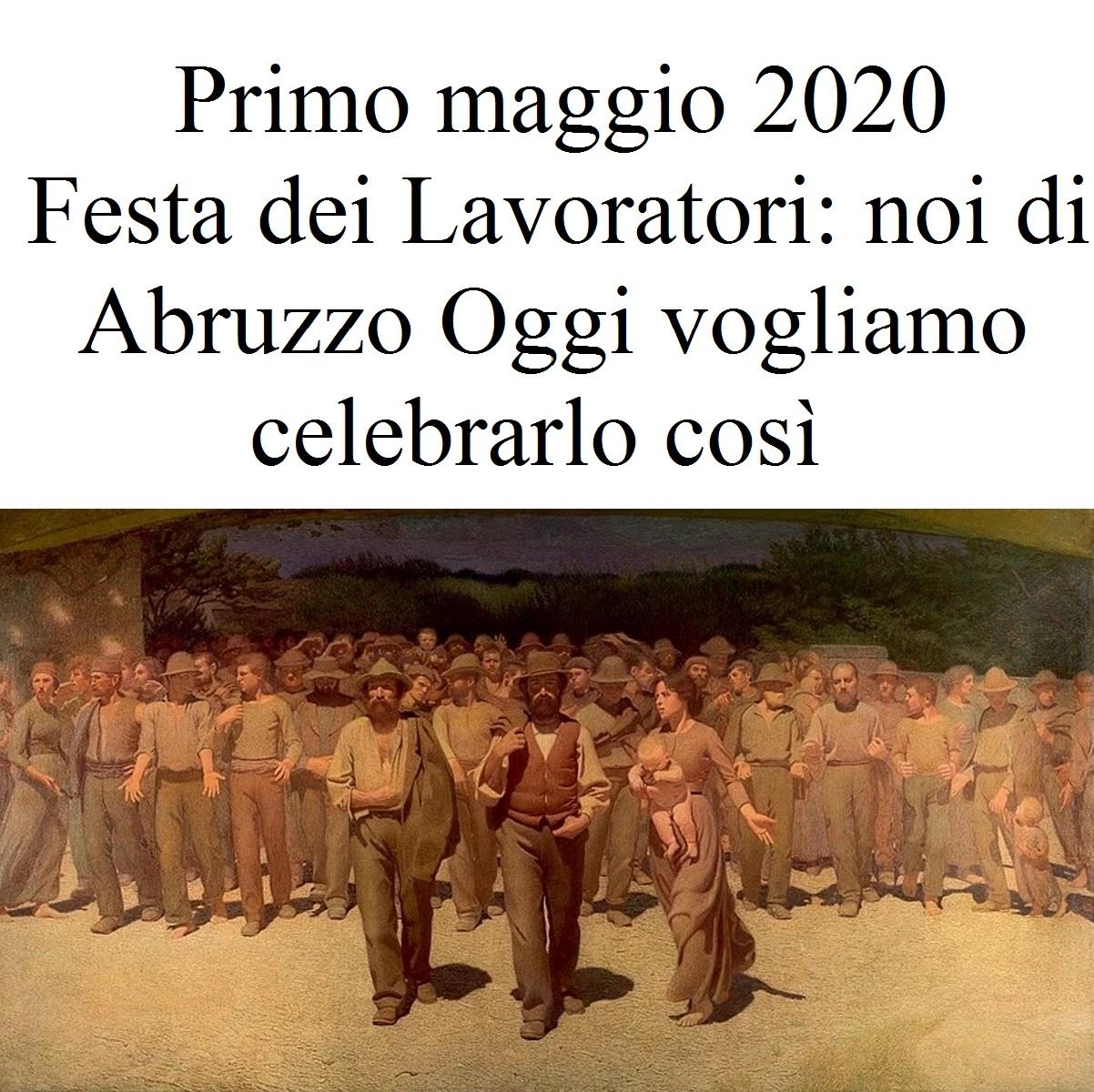 Primo maggio 2020 festa