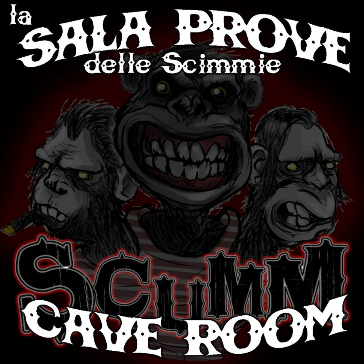 Scumm la Cave Room è diventata anche sala prove foto