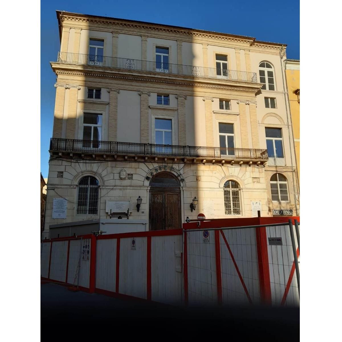 Sopralluogo a Palazzo d'Achille a Chieti foto