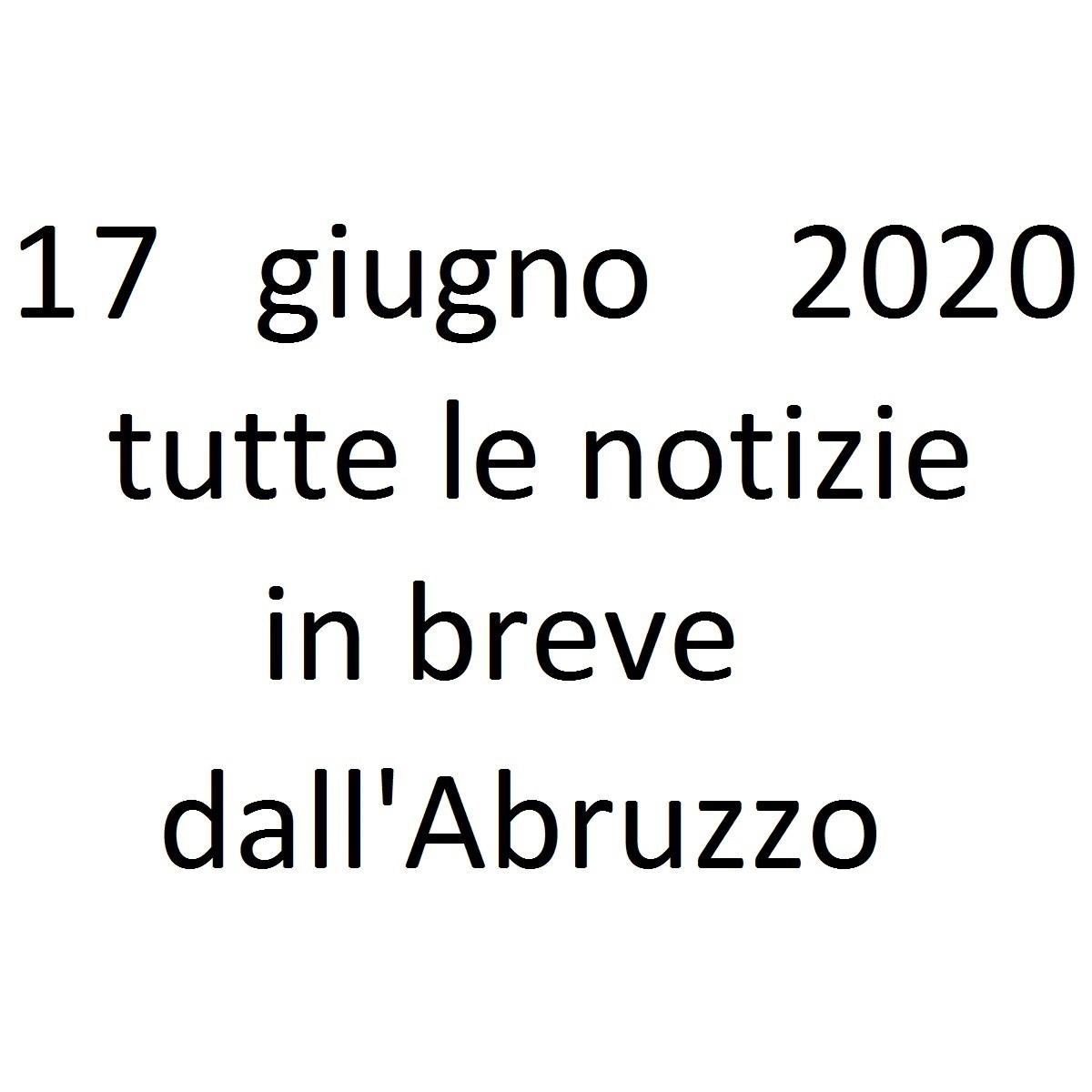 17 giugno 2020 notizie in breve foto