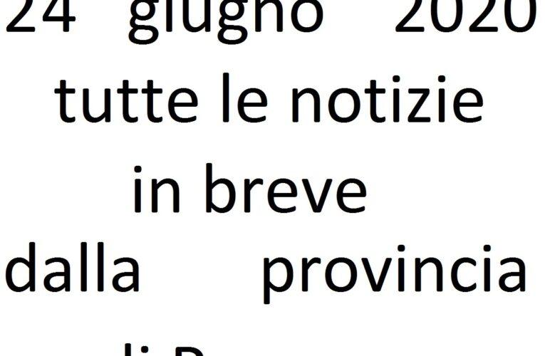24 giugno 2020 notizie in breve Pescara