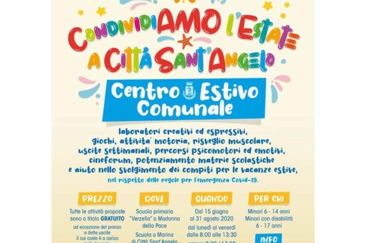 Città Sant'Angelo: nasce Centro Estivo per i bambini