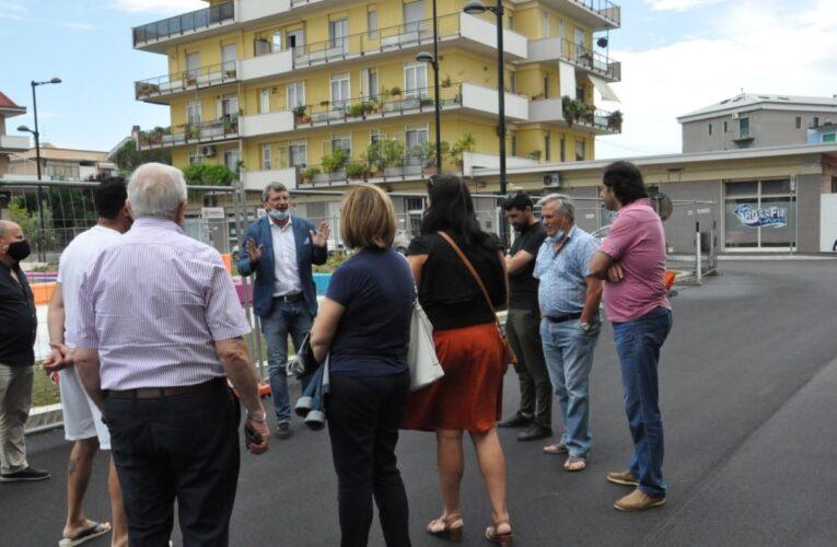 Piazza Caduti del Mare a Pescara completata a fine giugno
