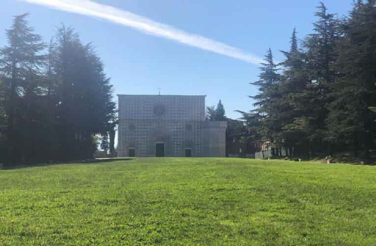 Restauro della Basilica di Collemaggio vince un premio