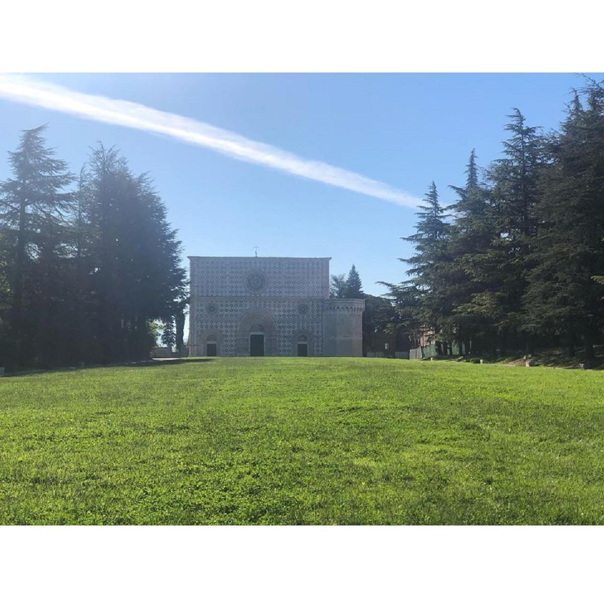 Restauro della Basilica di Collemaggio vince un premio foto