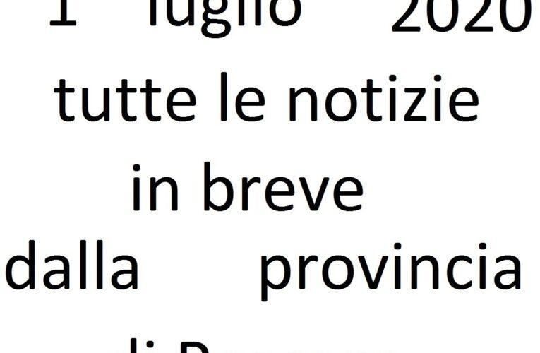 1 luglio 2020 notizie in breve Pescara
