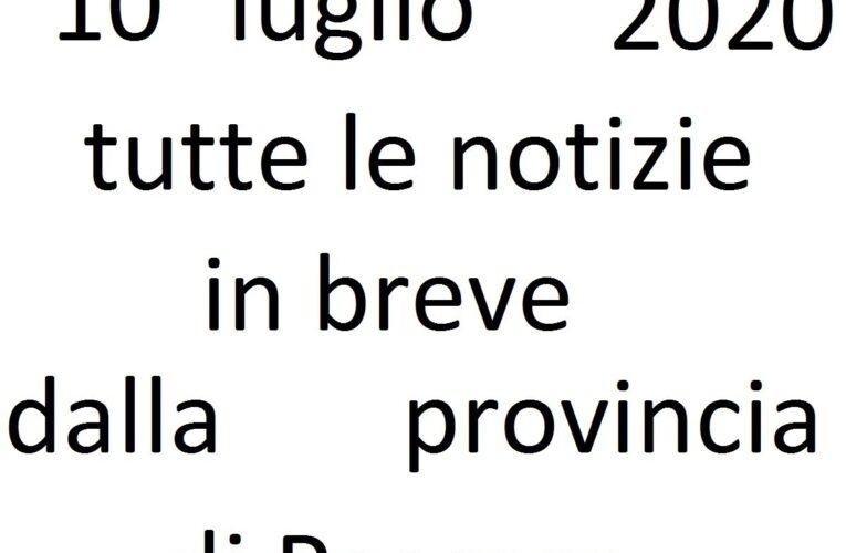 10 luglio 2020 notizie in breve Pescara