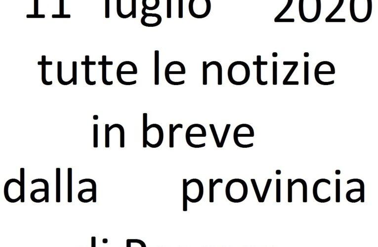 11 luglio 2020 notizie in breve Pescara
