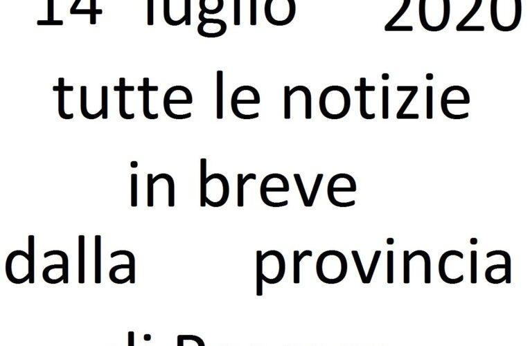 14 luglio 2020 notizie in breve Pescara